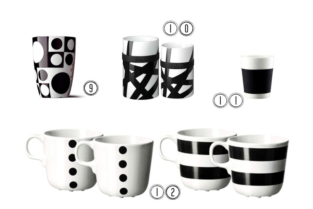 black&white cup