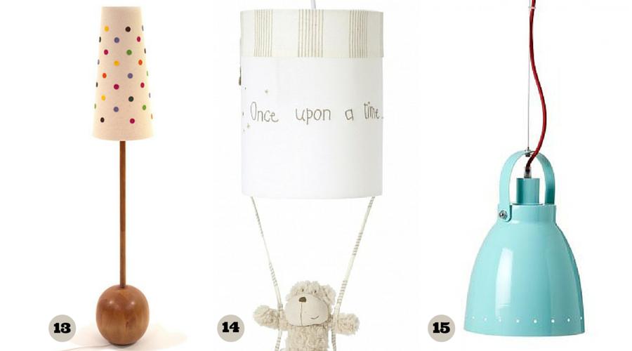 lampy do pokoju dziecinnego