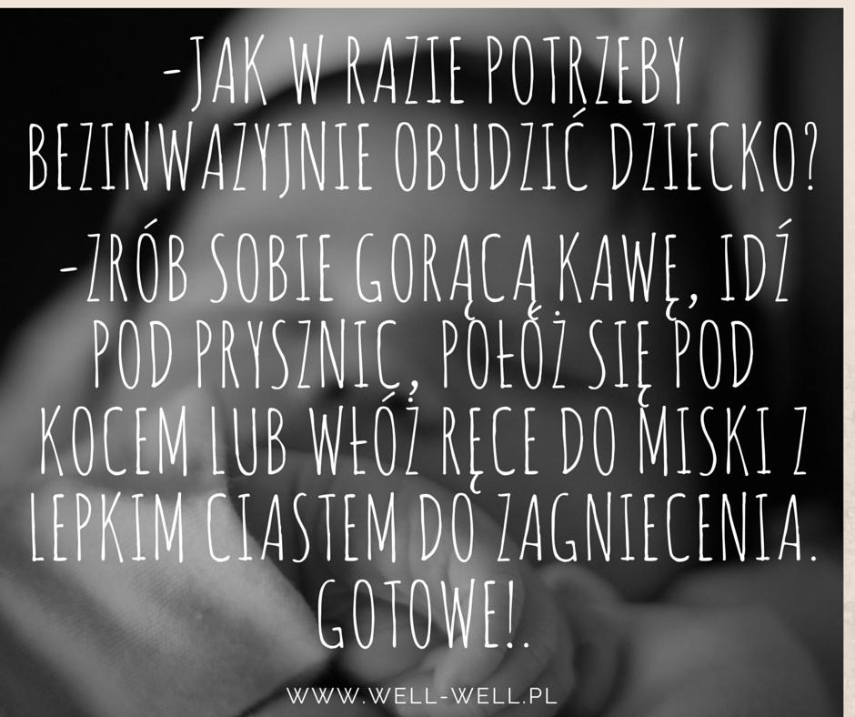jak obudzić dziecko well-well.pl