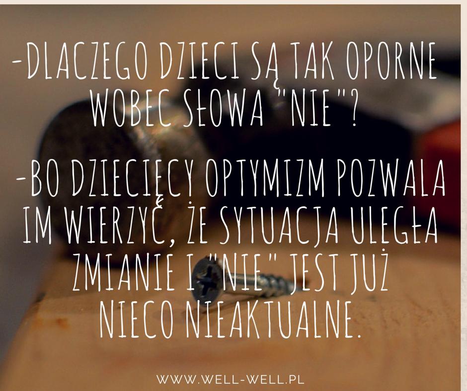 słowo nie well-well.pl