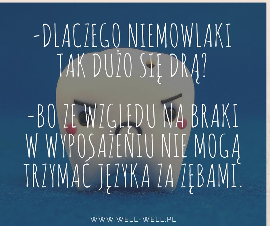 ząbkowanie www.well-well.pl