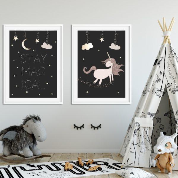 plakat unicorn