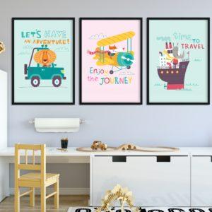 plakaty dla podróżnika