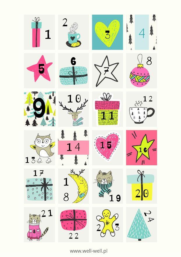 kalendarz adwentowy do pobrania